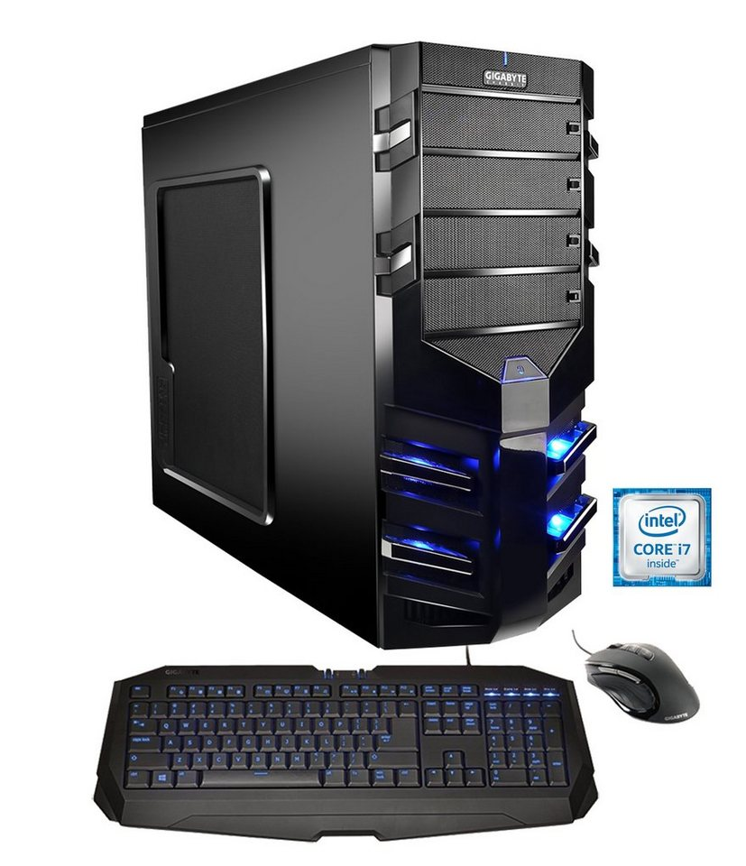 Hyrican Gaming PC Intel® i7-6700K, GeForce GTX 980, Windows 10 »Alpha Gaming 4802 OC Edition«