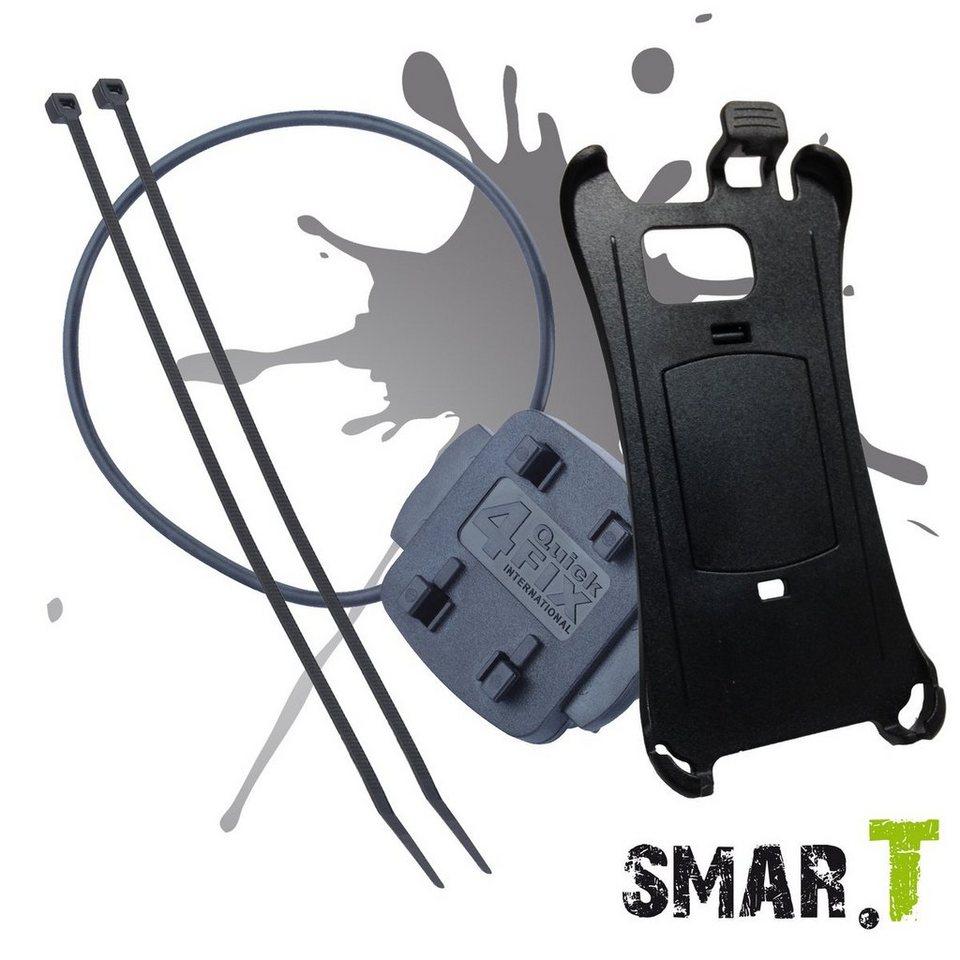 SMAR.T Halter »phone-Fahrradhalter für Samsung Galaxy S6 Edge« in Schwarz