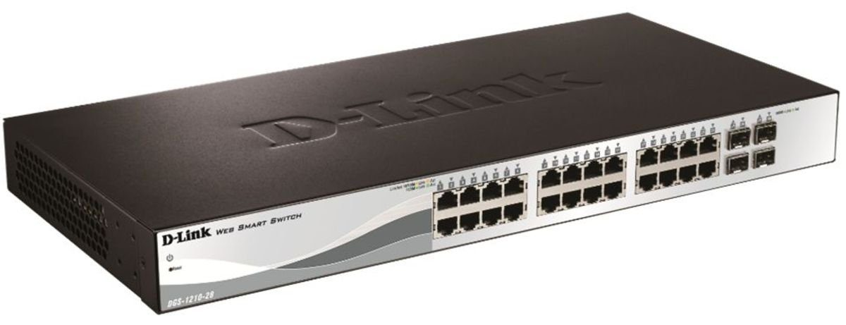 D-Link Switch »DGS-1210-28 28-Port Smart Managed Gigabit Switch«