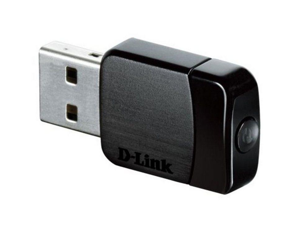 D-Link USB-Stick »DWA-171 Wireless 11ac Dualband Micro USB Stick« in Schwarz