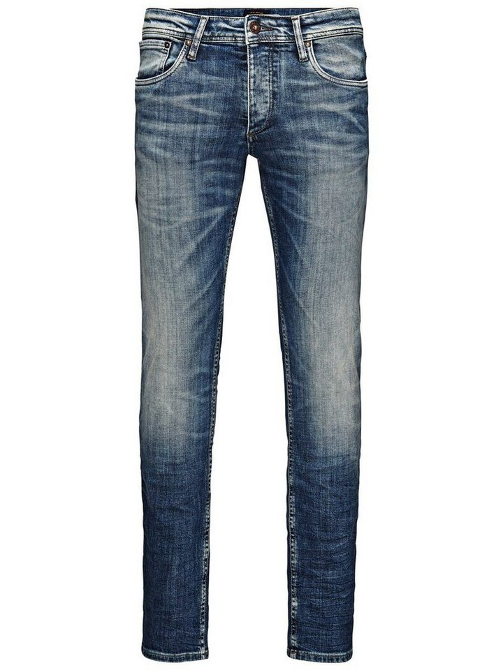 Jack & Jones Glenn Original JJ 887 Slim Fit Jeans in Blue Denim