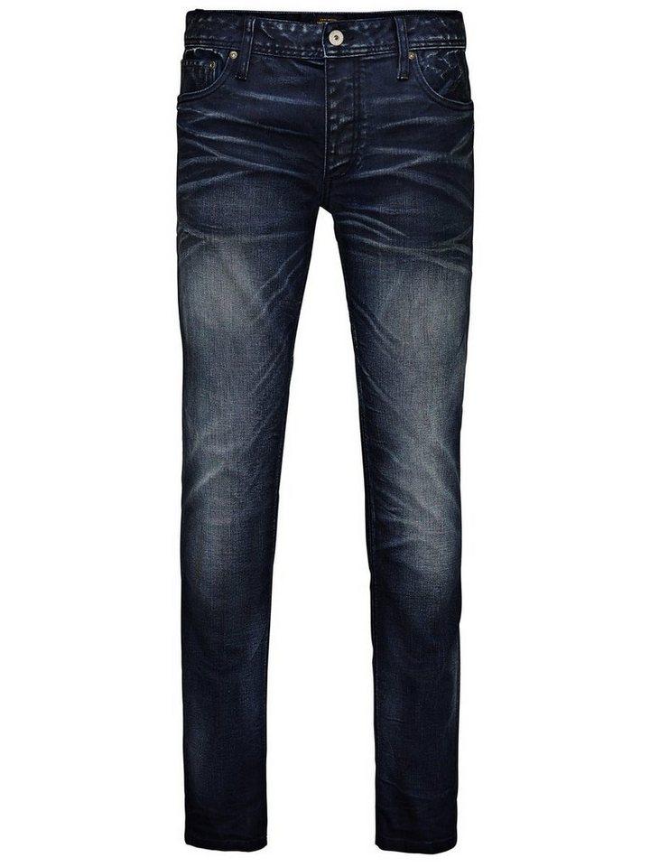 Jack & Jones Tim Original JOS 878 Slim Fit Jeans in Blue Denim