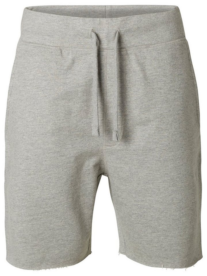 Selected Sweat - Shorts in Light Grey Melange
