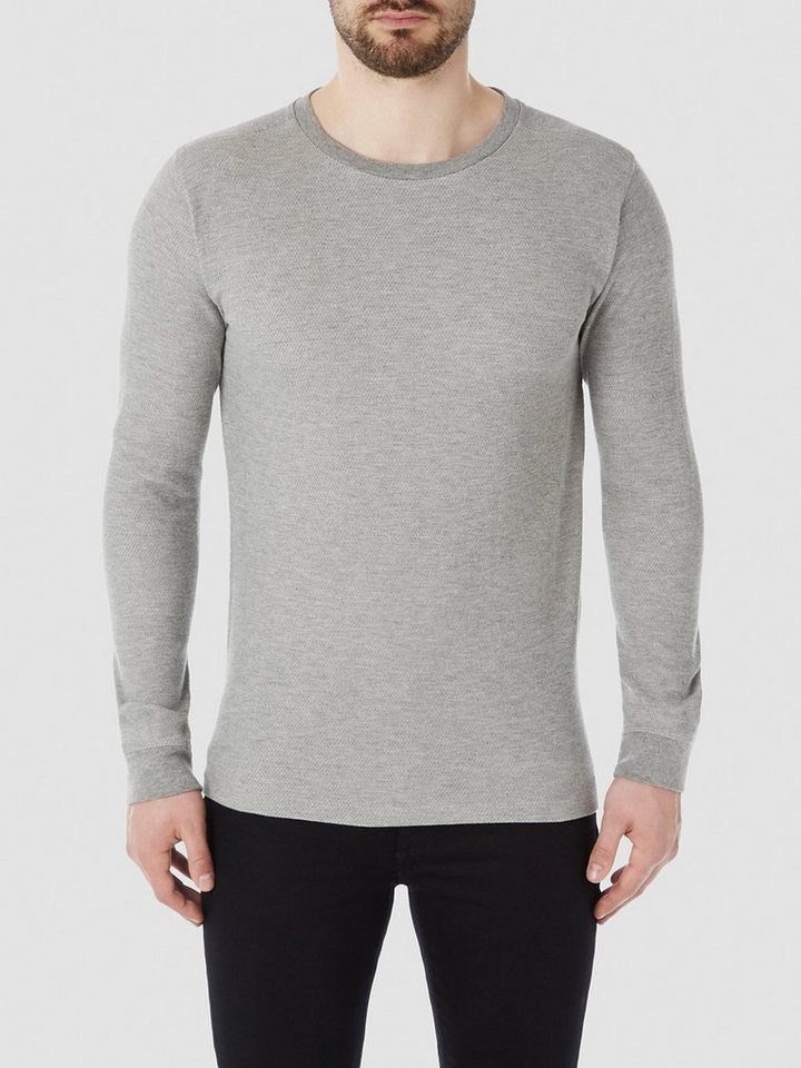 Selected Crew neck - Strickpullover in Grey