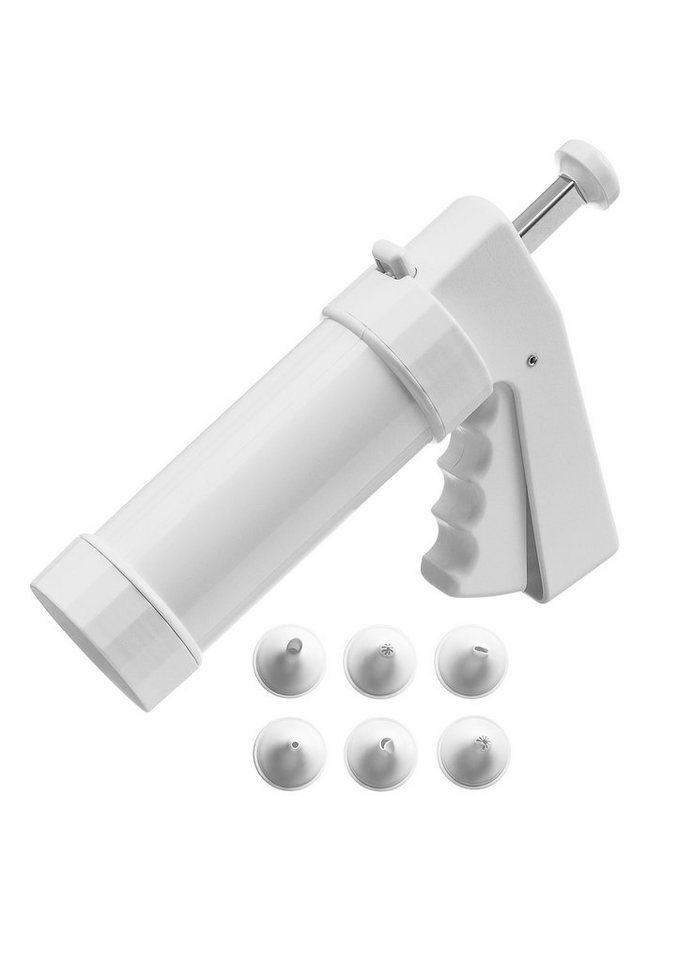Kaiser Gebäckpresse, Kunststoff, »Patisserie« in weiß