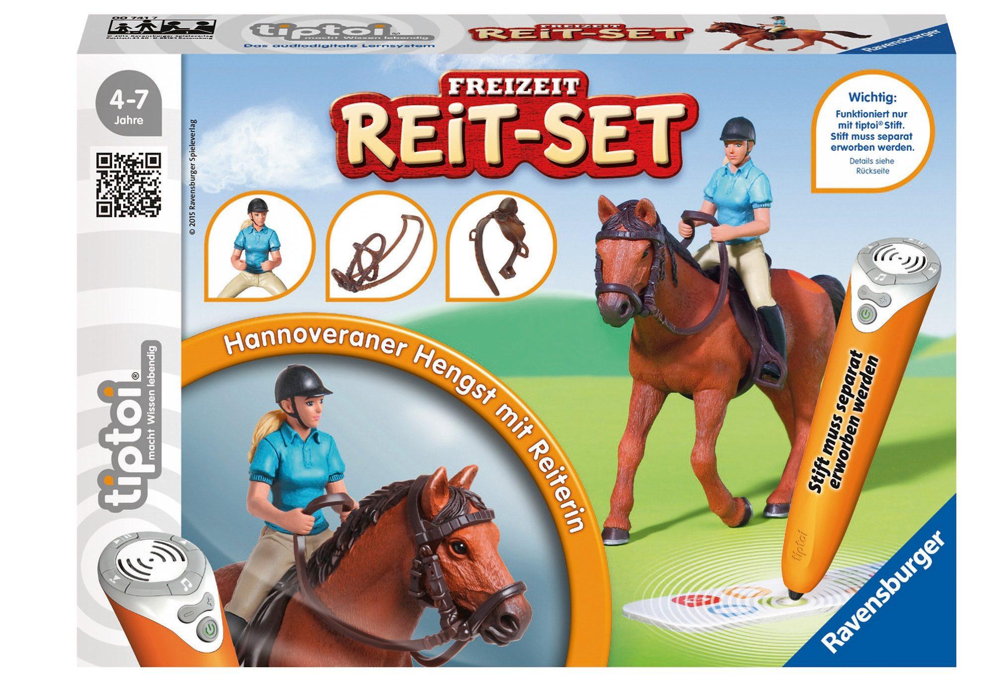 Ravensburger Spielset tiptoi®, »Freizeit Reit-Set«