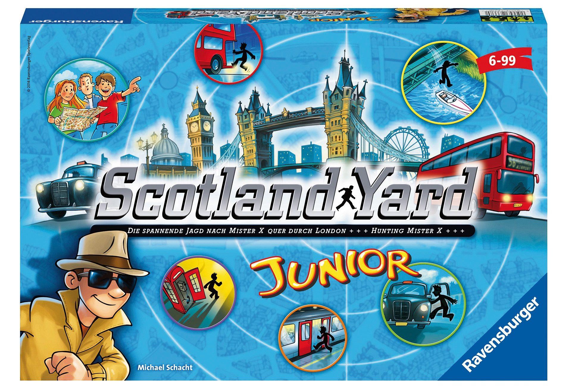 Ravensburger Gesellschaftsspiel, »Scotland Yard Junior«