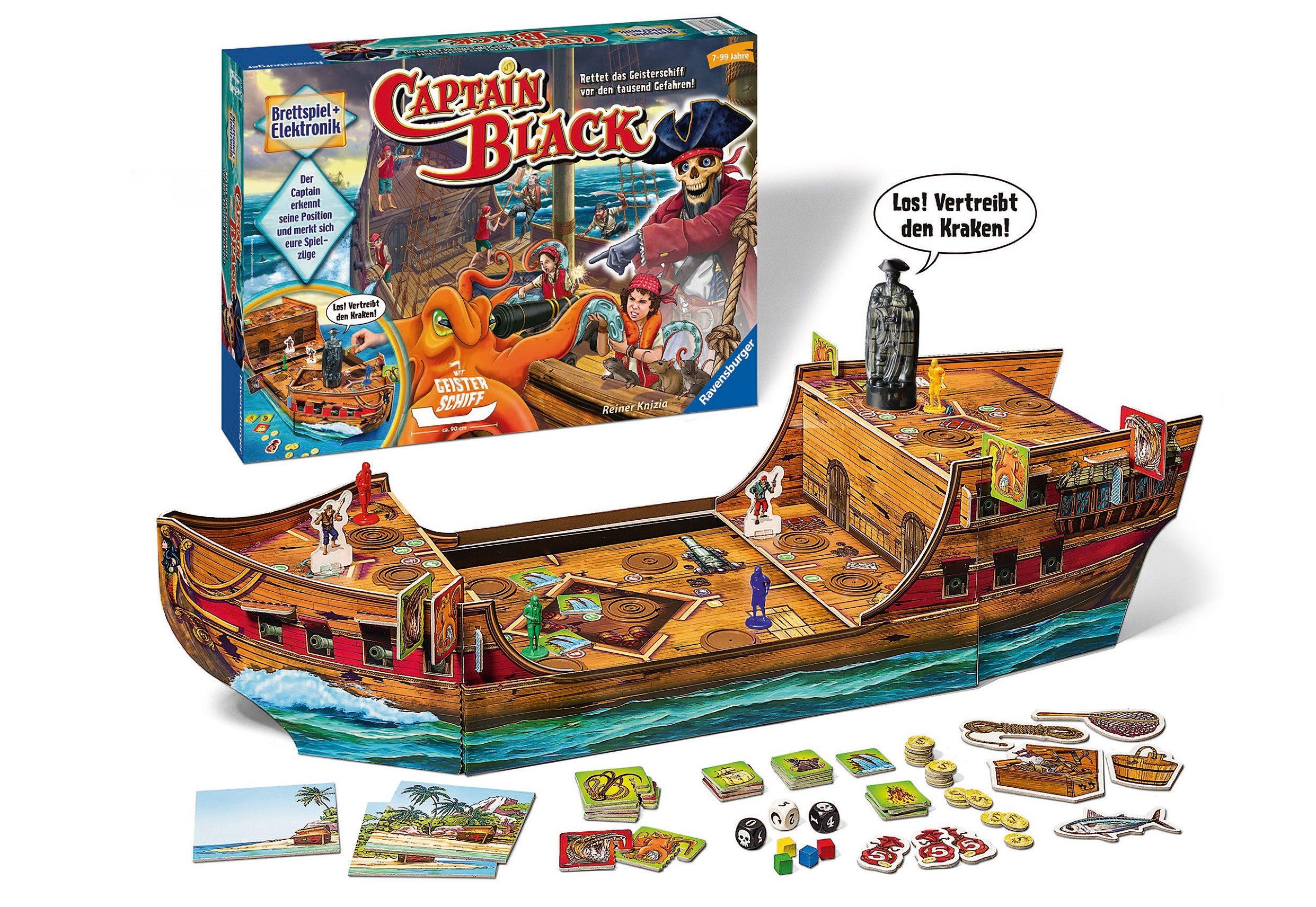 Ravensburger Gesellschaftsspiel, »Captain Black«