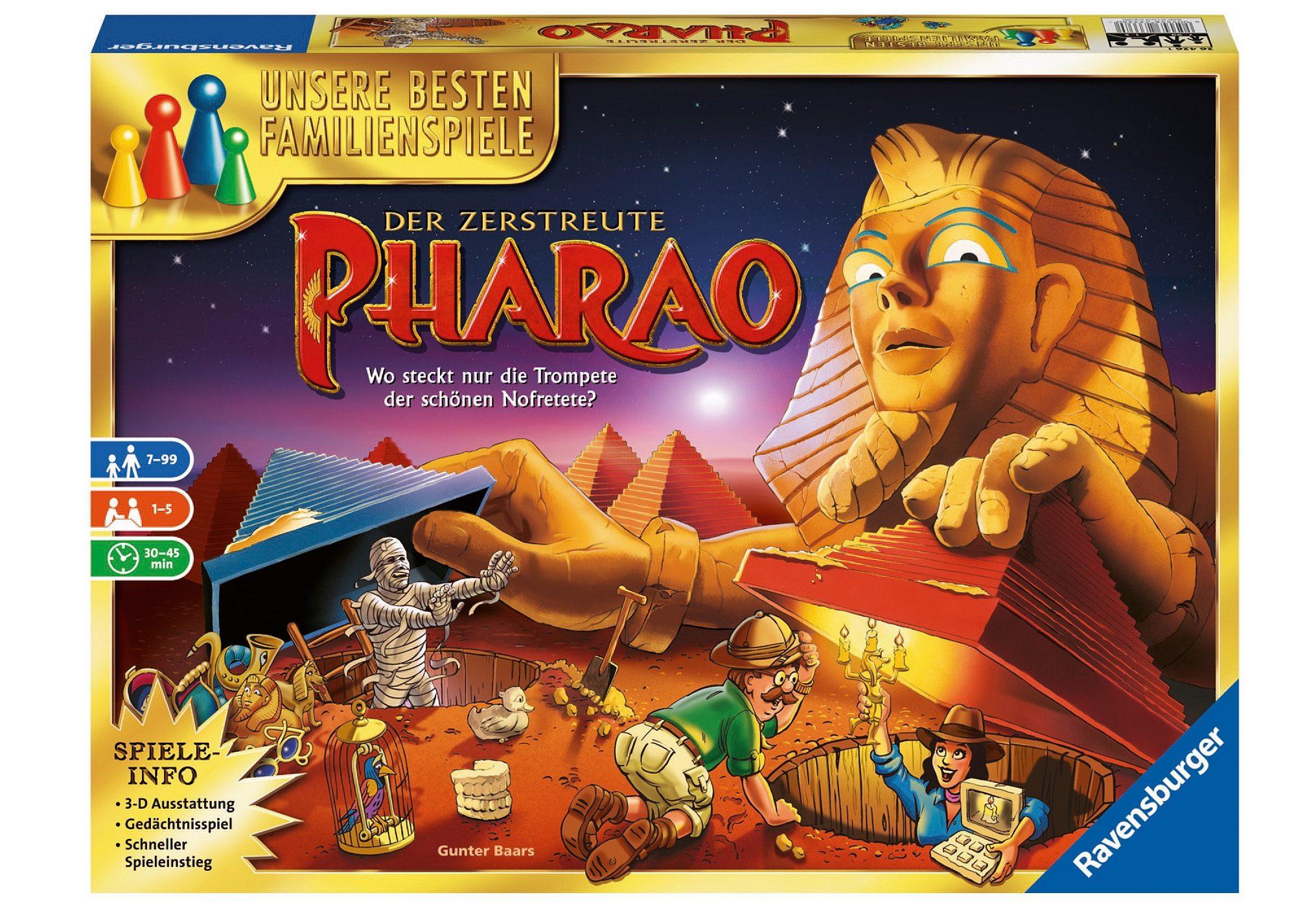 Ravensburger Gesellschaftsspiel, »Der zerstreute Pharao«