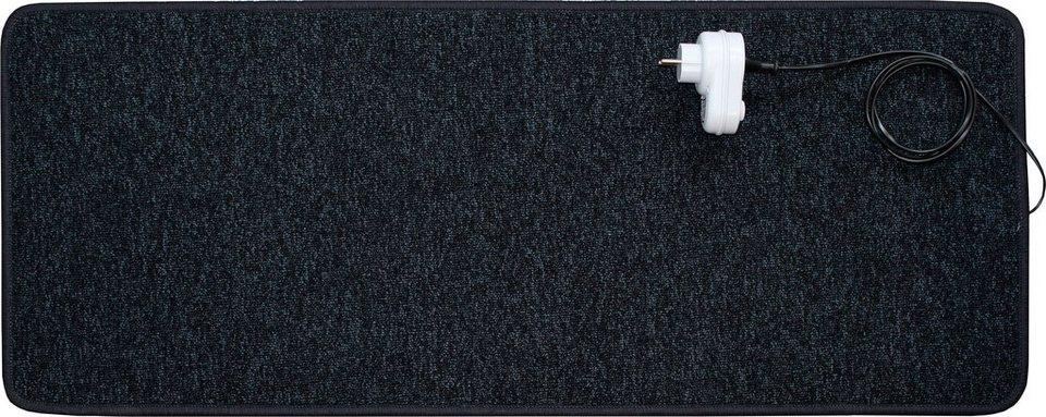 Infrarotheizteppich »140 Watt« in schwarz