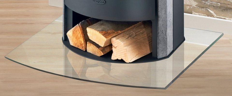 glasbodenplatte f r kamin fen segmentbogen 100 x 120 cm online kaufen otto. Black Bedroom Furniture Sets. Home Design Ideas