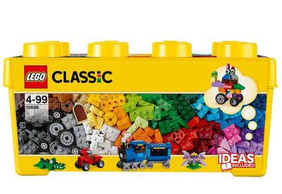 LEGO® Konstruktionsspielsteine »Bausteine Box (10696), LEGO®Classic«, (484 St), Made in Europe