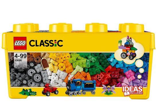 LEGO® Konstruktionsspielsteine »Bausteine Box (10696), LEGO®Classic«, (484 St)