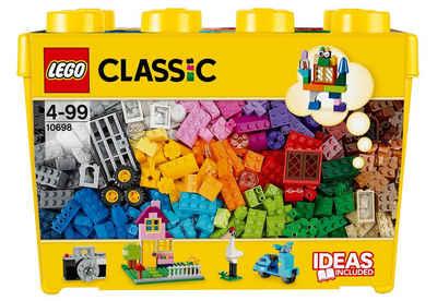 LEGO® Konstruktionsspielsteine »Große Steine-Box (10698), LEGO® Classic«, (790 St), Made in Europe