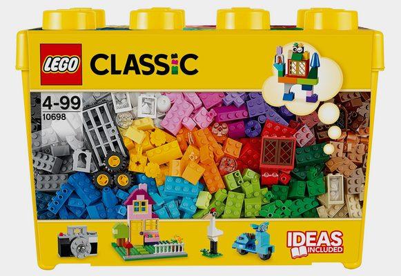 Konstruktionsspielsteine »Große Steine-Box (10698), LEGO® Classic«, (790 St), Made in Europe