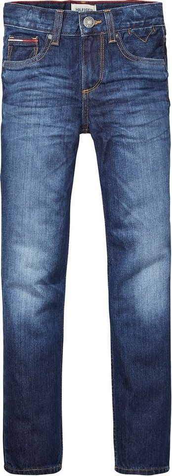 Tommy Hilfiger Jeans »CLYDE STRAIGHT FDW« in Flamingo Dark Wash