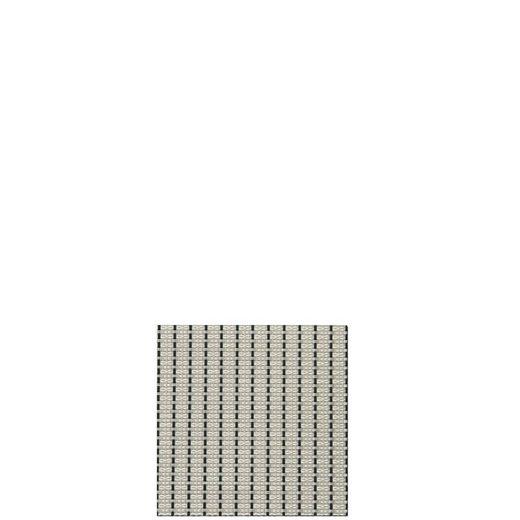 sambonet Platzset »Linea Q Nadelstreifen w/s Tischset 42x33« (1-tlg)