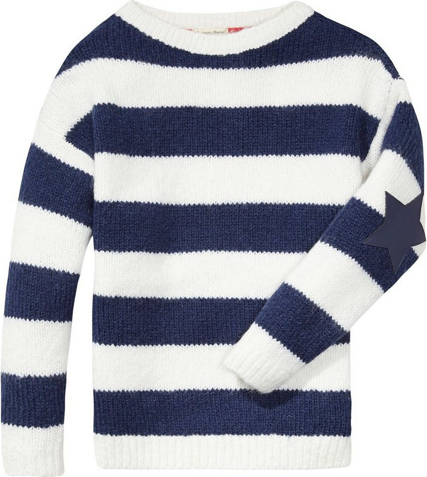 Tommy Hilfiger Pullover »VIOLET BN SWEATER L/S« in Snow White
