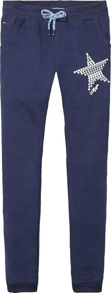 Tommy Hilfiger Jerseyhosen/ Sweathosen »ANIKA JOGGING PANTS« in Black Iris