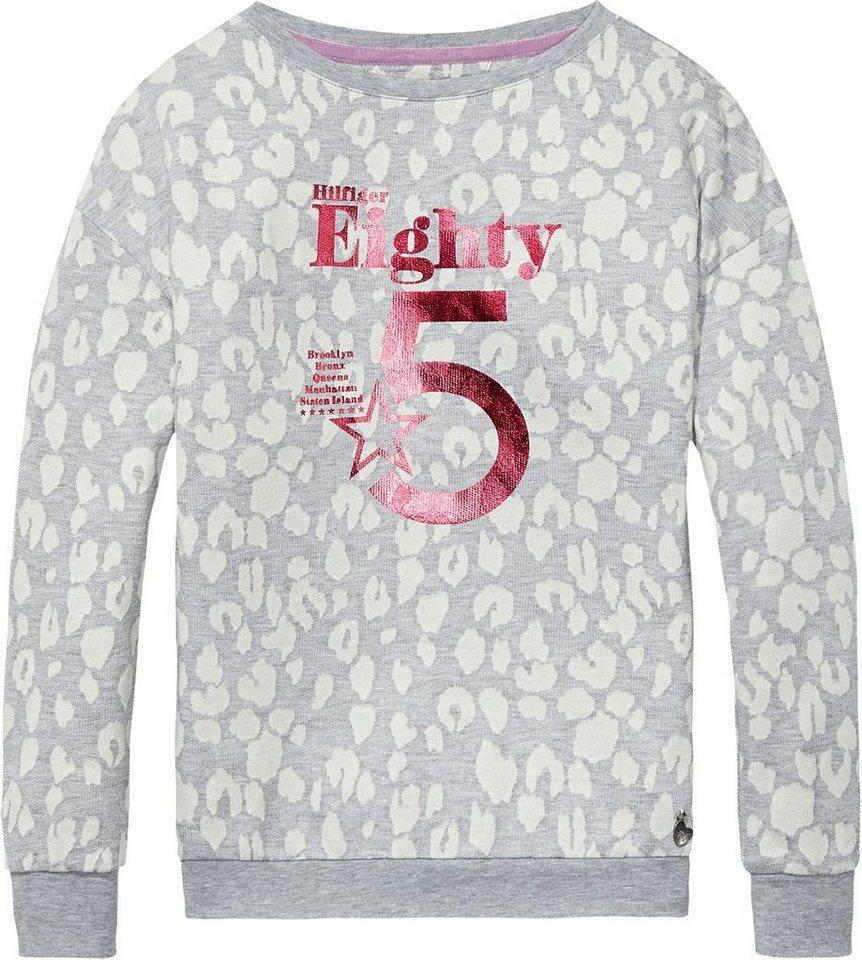 Tommy Hilfiger Sweatshirts »FRANCESCA BN HWK L/S« in Light Grey Heather