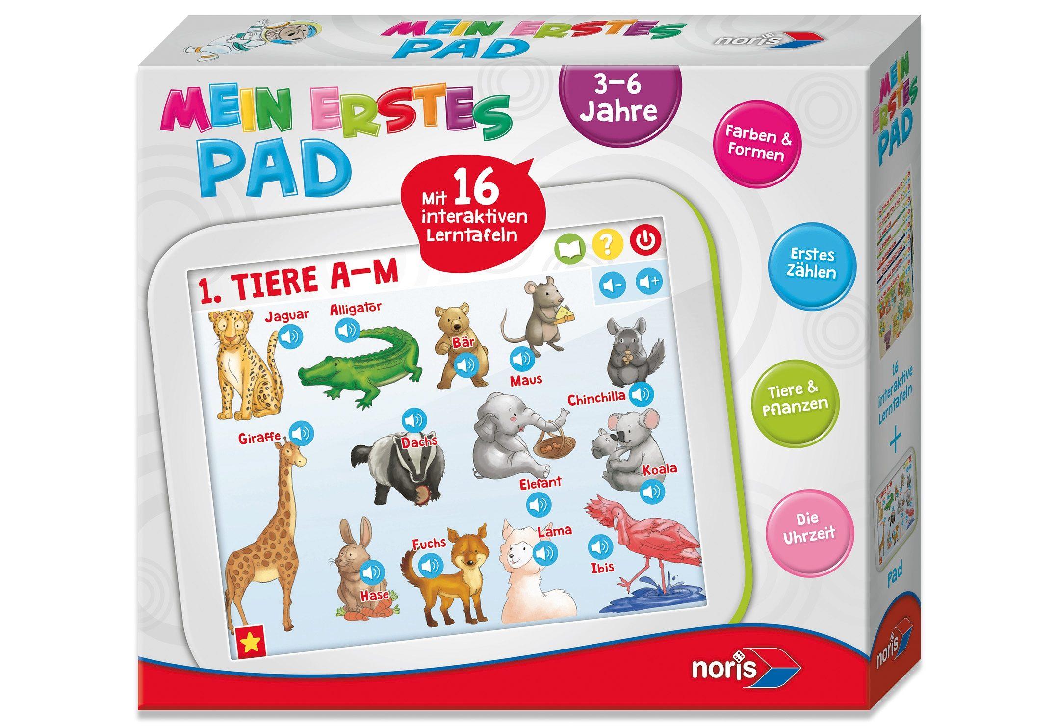Noris Kinder Tablet, »Mein erstes Pad«