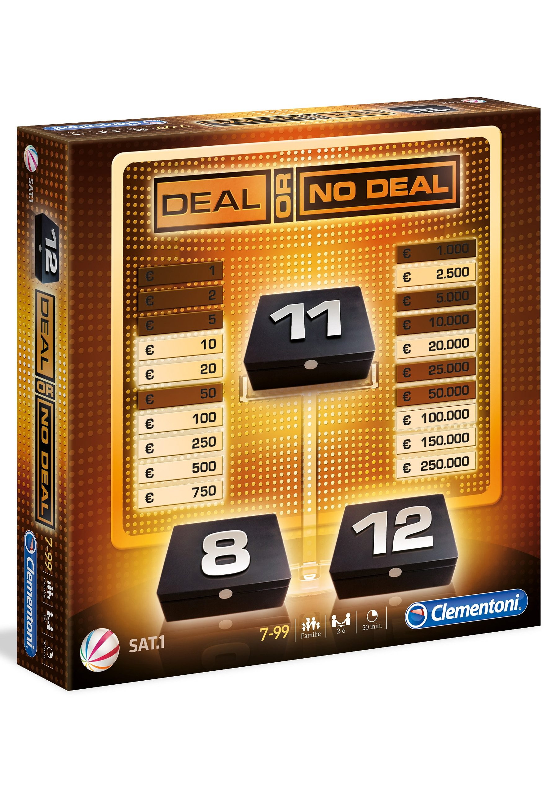 Clementoni Brettspiel, »Deal or no Deal«