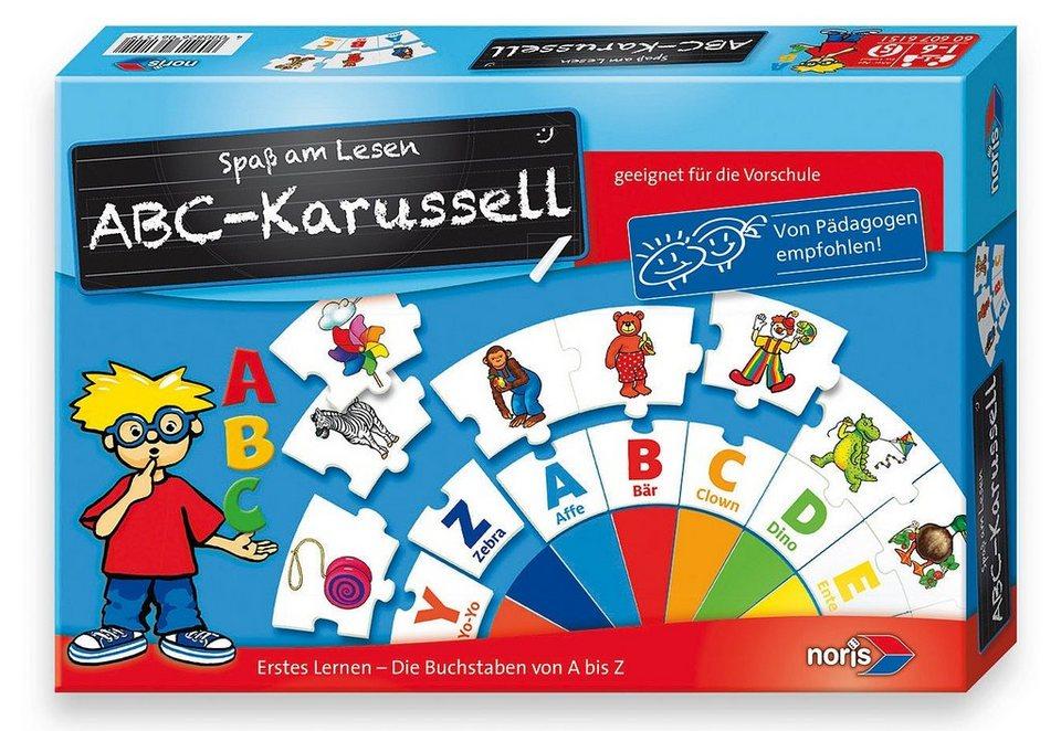 Noris Lernspiel, »ABC-Karussell«