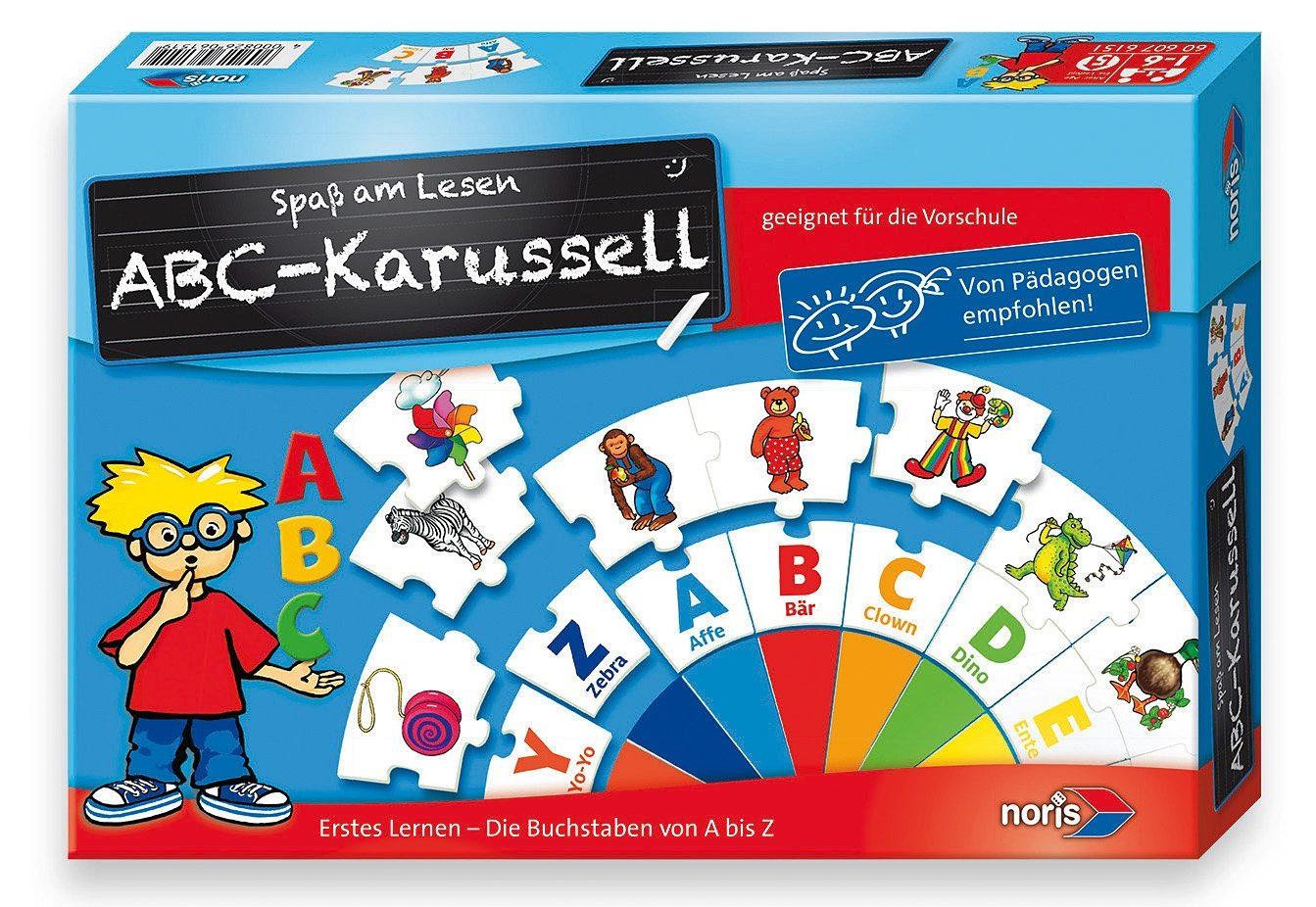 Noris, Lernspiel, »ABC-Karussell«