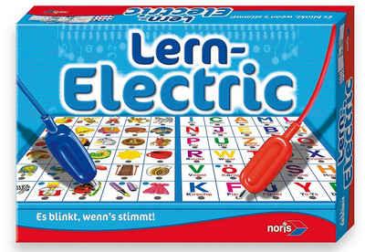 Noris, Lernspiel, »Lern-Electric« Sale Angebote Koppatz