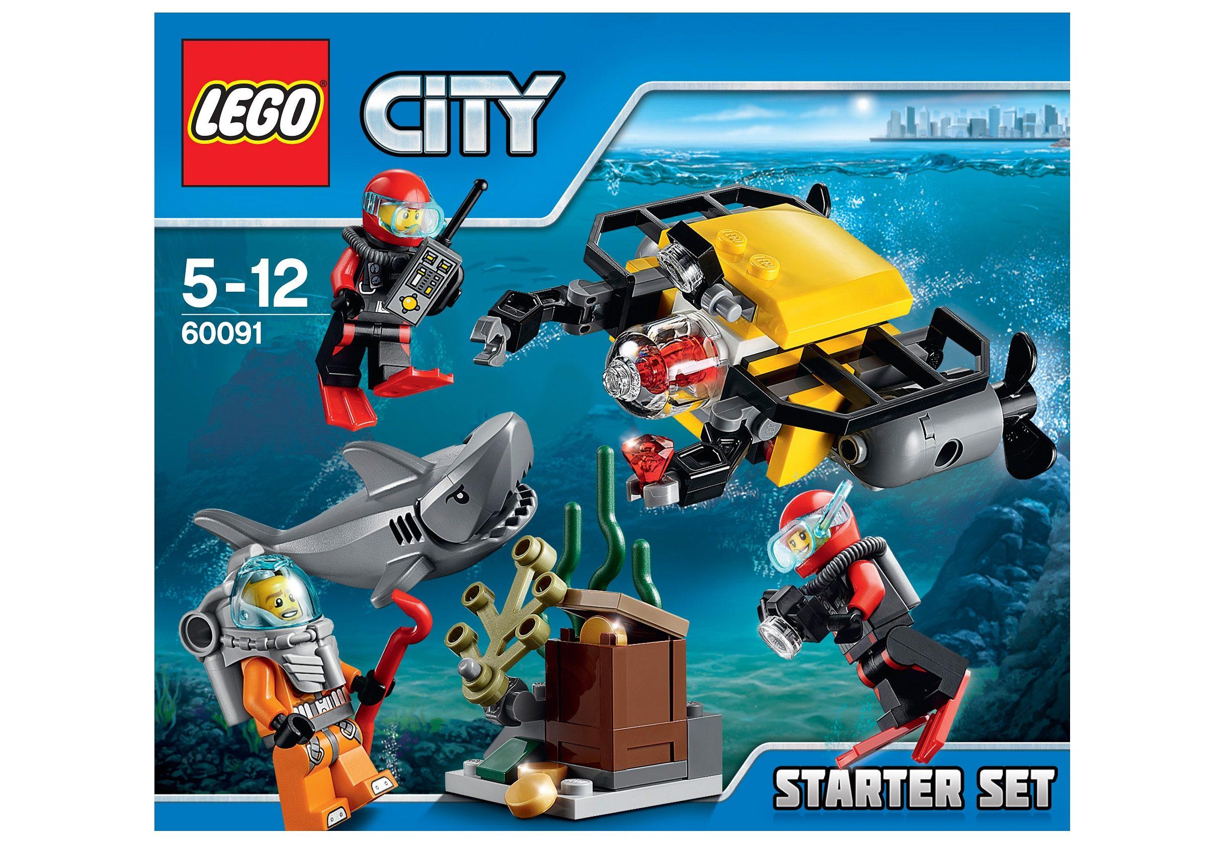 LEGO® Tiefsee Starterset (60091), »LEGO® City«