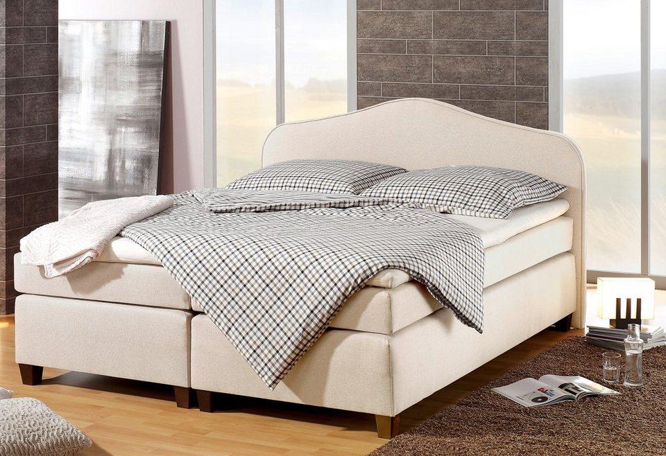 home affaire boxspringbett nevada online kaufen otto. Black Bedroom Furniture Sets. Home Design Ideas
