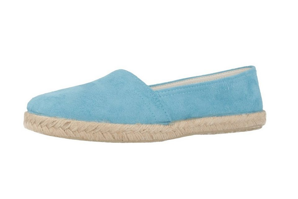 Andres Machado Slipper in Blau