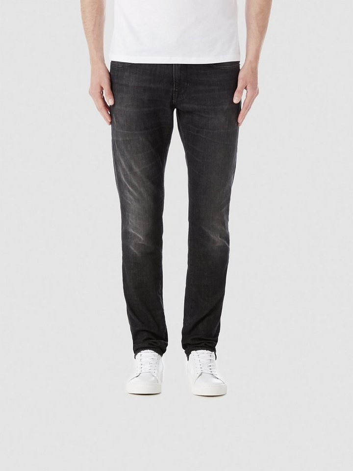 Selected Schwarze Slim Fit Jeans in Black
