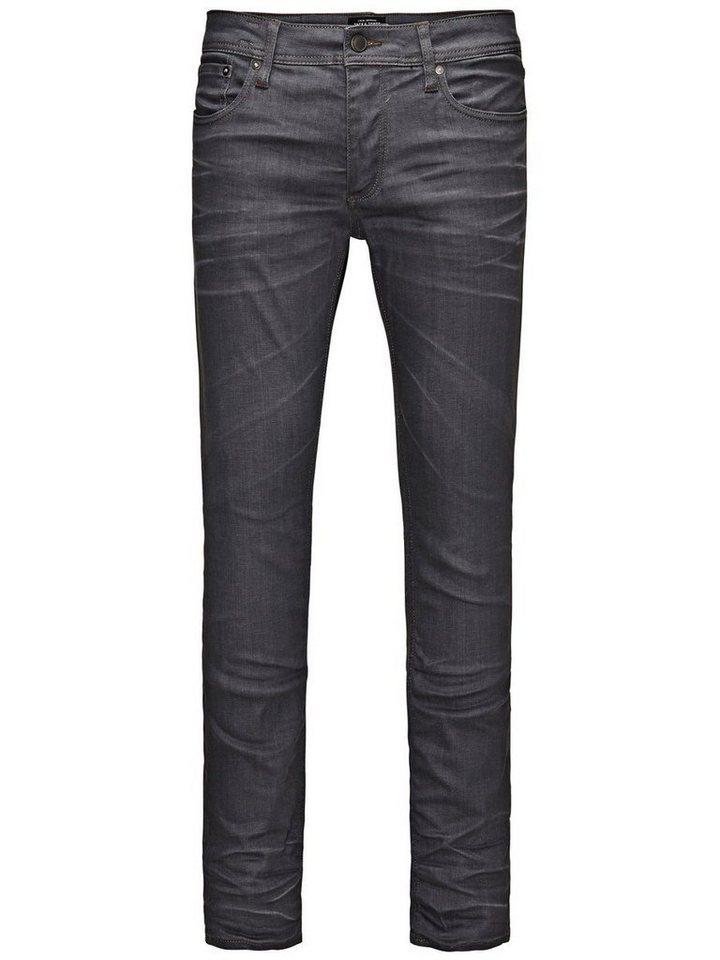 Jack & Jones Tim Original JJ 920 Slim Fit Jeans in Grey Denim