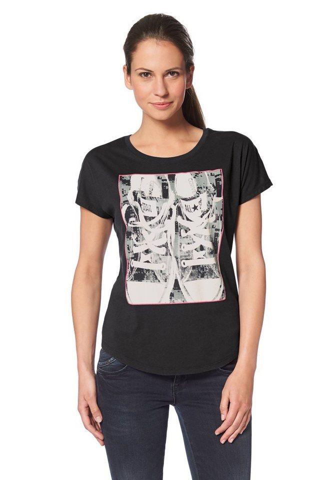Converse T-Shirt in Dunkelgrau