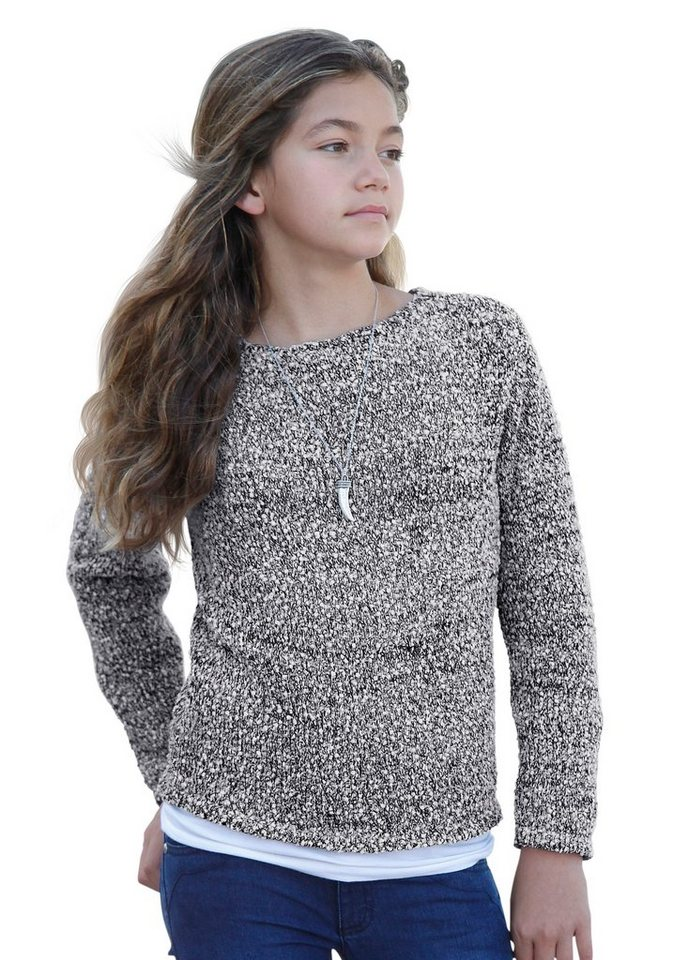 Arizona Pullover in grau