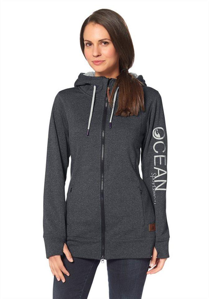 Ocean Sportswear Fleecejacke in Anthrazit