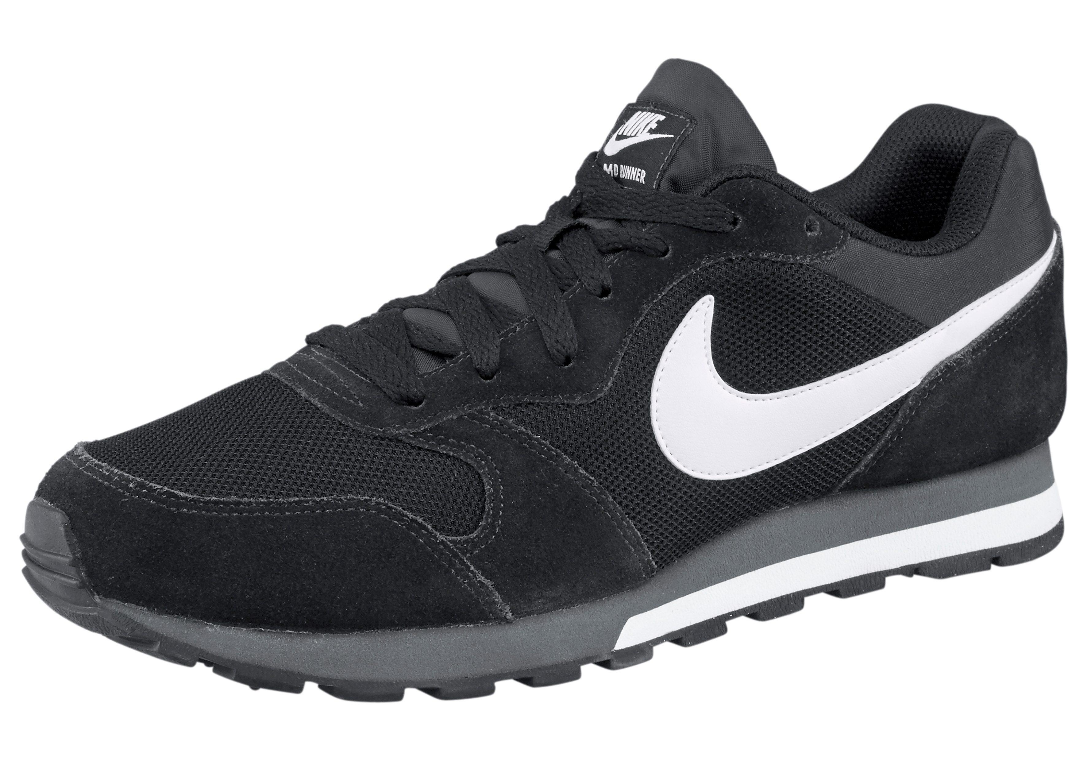 Nike Sportswear Sneaker 'MD Runner 2' in schwarz weiß