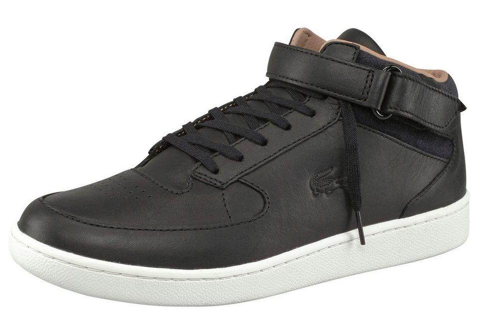 Lacoste Turbo SRM Sneaker in Schwarz