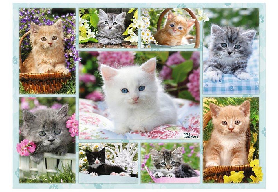 Ravensburger Puzzle, »Kätzchen im Körbchen«