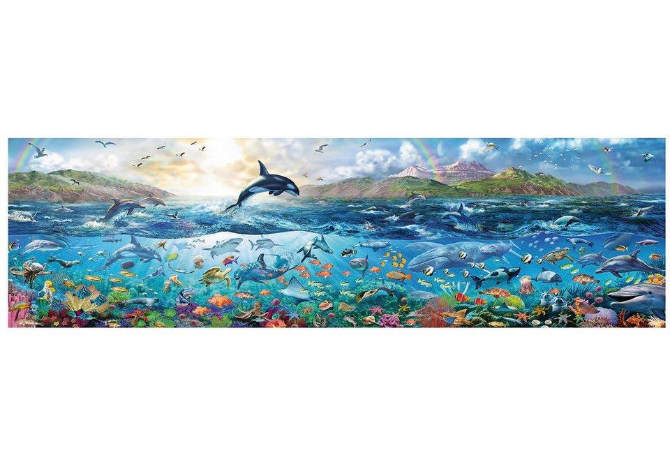 Ravensburger Panoramapuzzle, 2000 Teile, »Lebendiger Ozean«