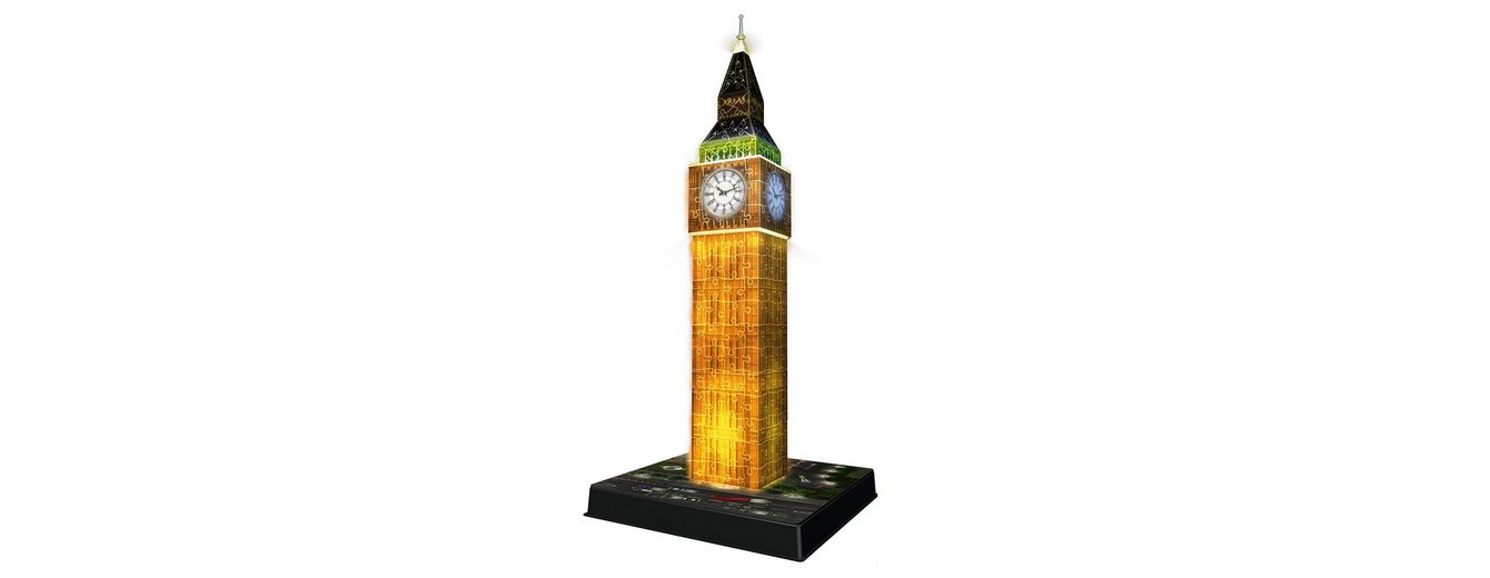 Ravensburger 3D Puzzle, »Big Ben bei Nacht«