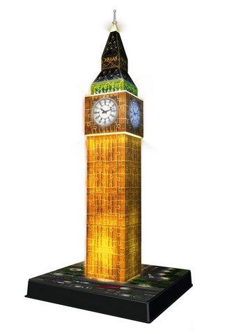 "RAVENSBURGER 3D-Puzzle ""Big Ben bei Nacht""..."