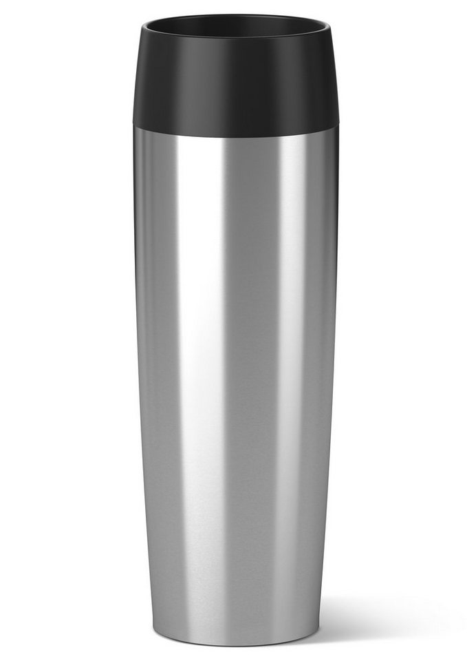 emsa Isolierbecher, Edelstahl, 0,5 Liter, »TRAVEL MUG GRANDE« in silberfarben