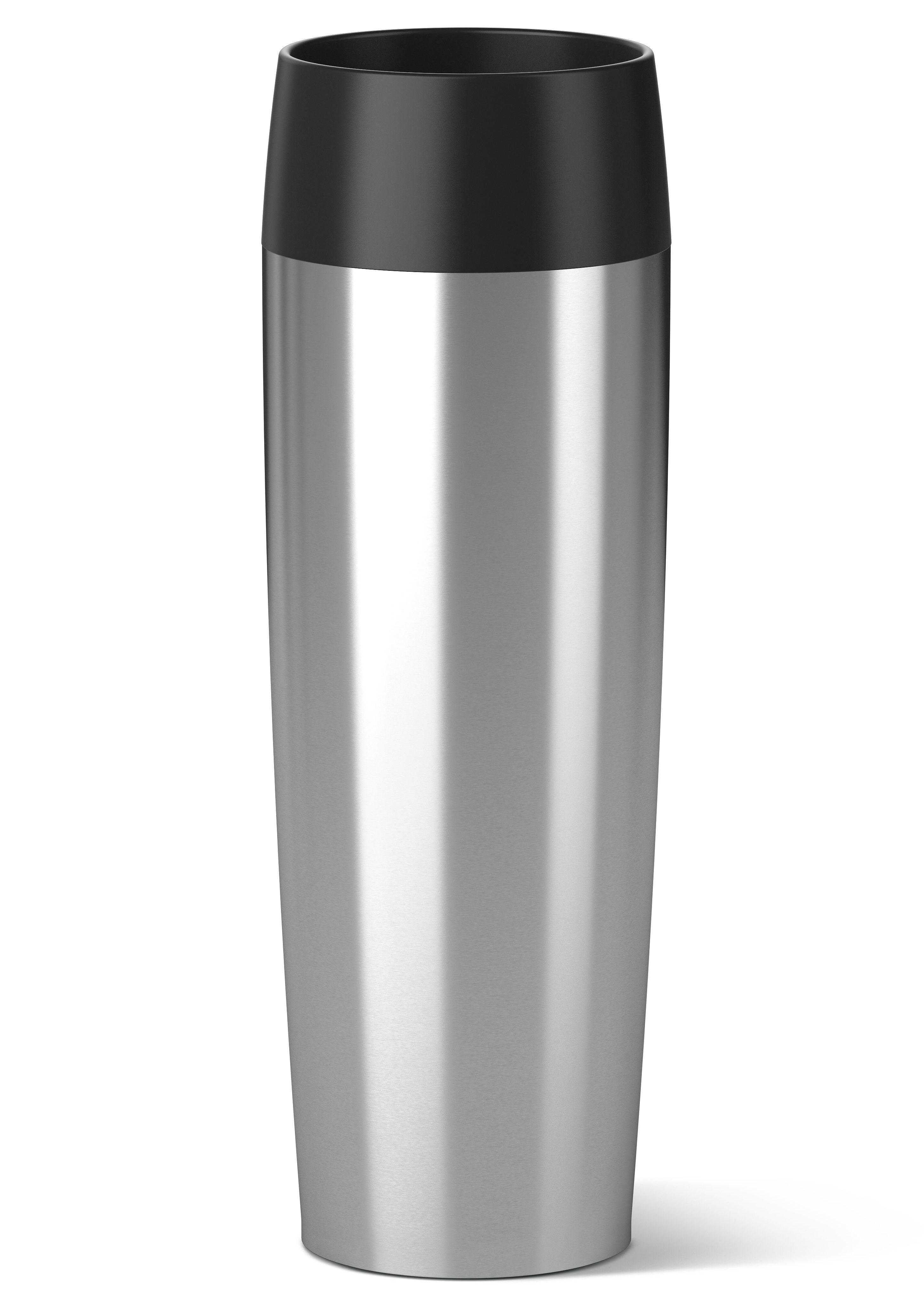 emsa Isolierbecher, Edelstahl, 0,5 Liter, »TRAVEL MUG GRANDE«