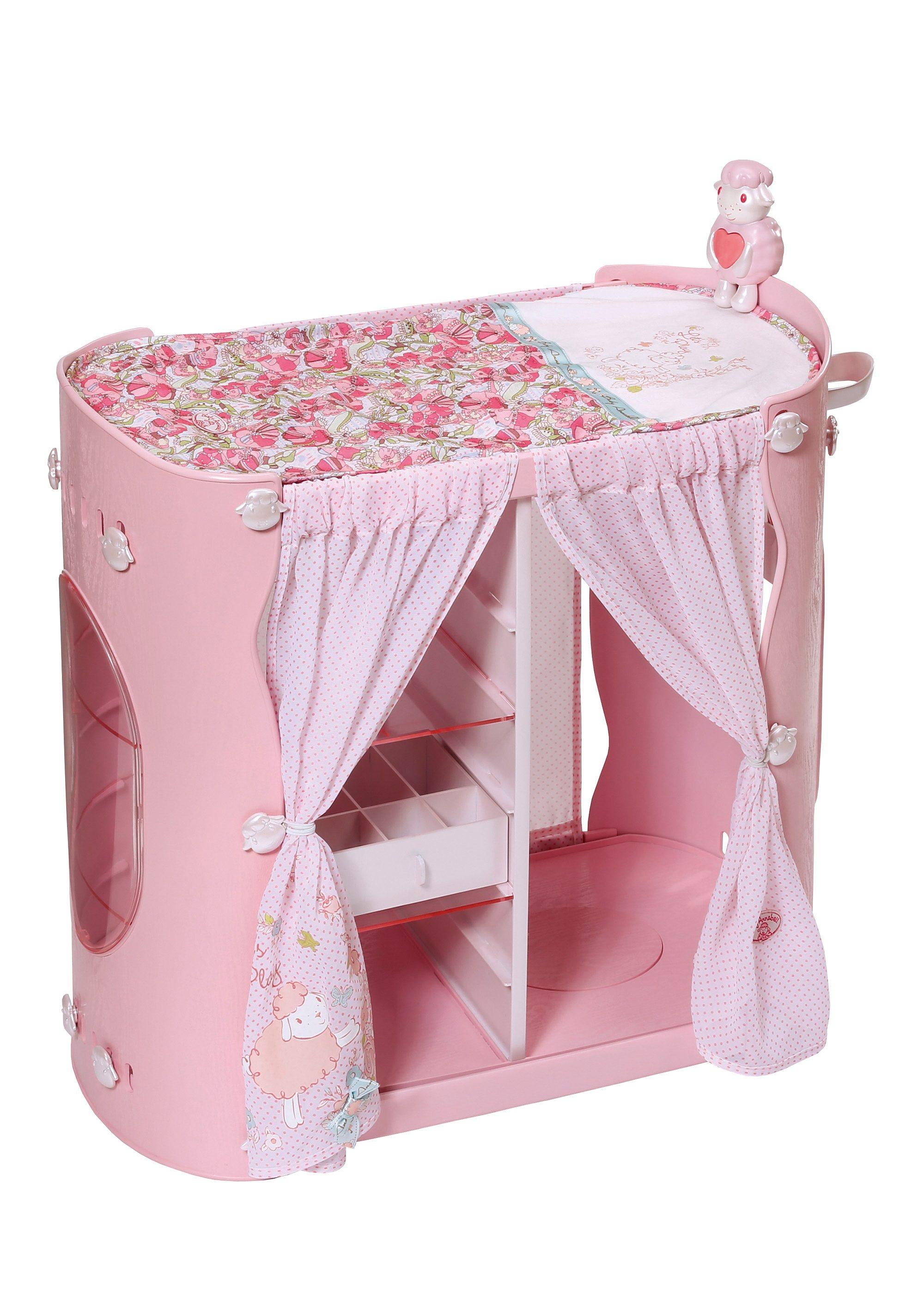 Zapf Creation Puppenmöbel, »Baby Annabell® 2-in-1 Schrank/Wickeltisch«
