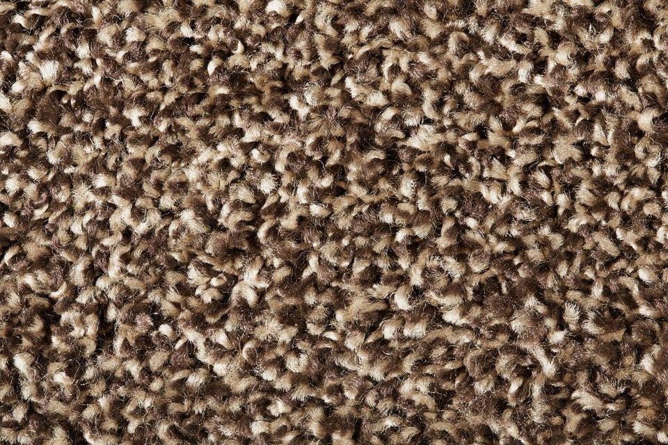 Teppichboden »Allegra«, Breite 400 cm in braun/weiß