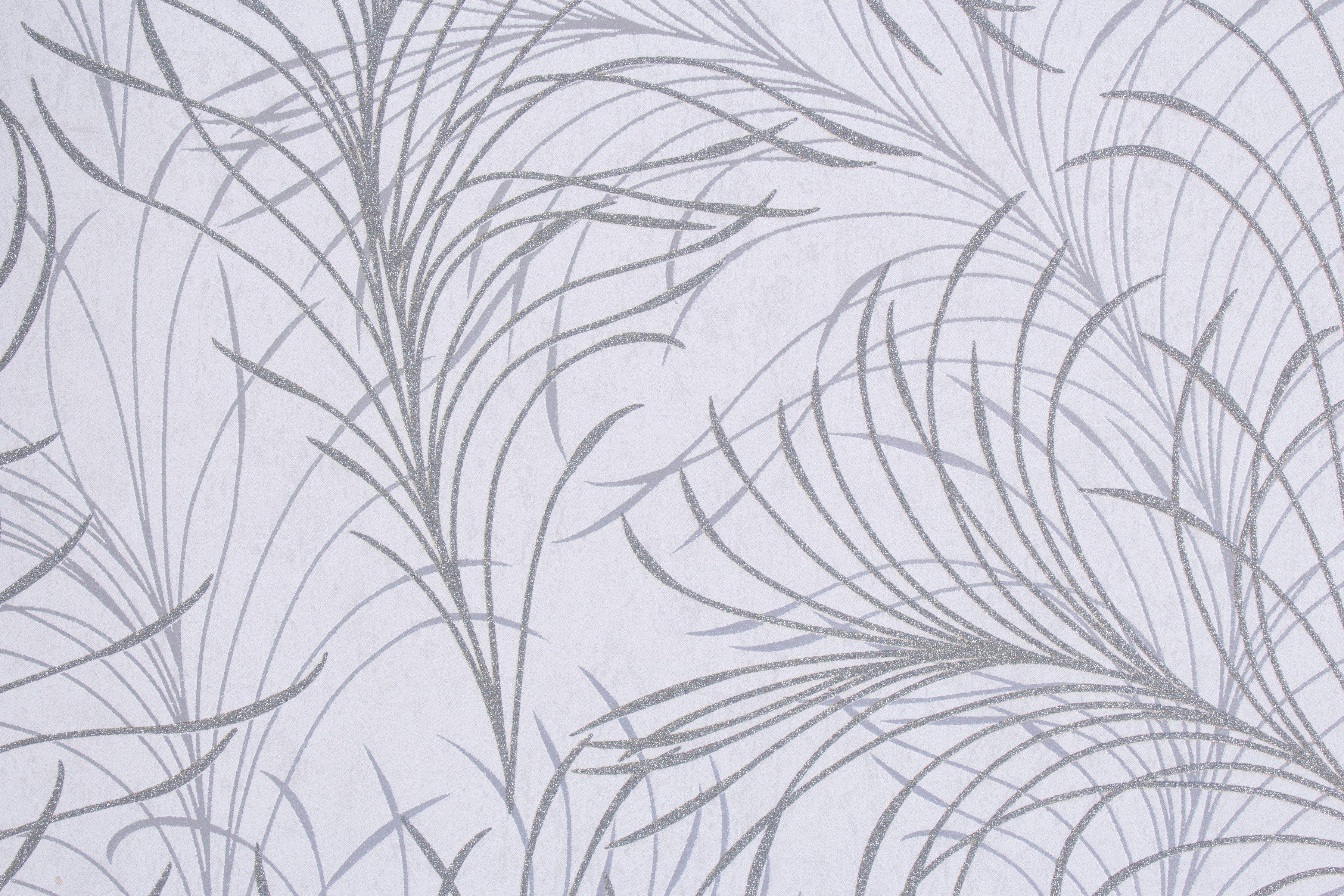 Vliestapete »Estelle«, grau Struktur