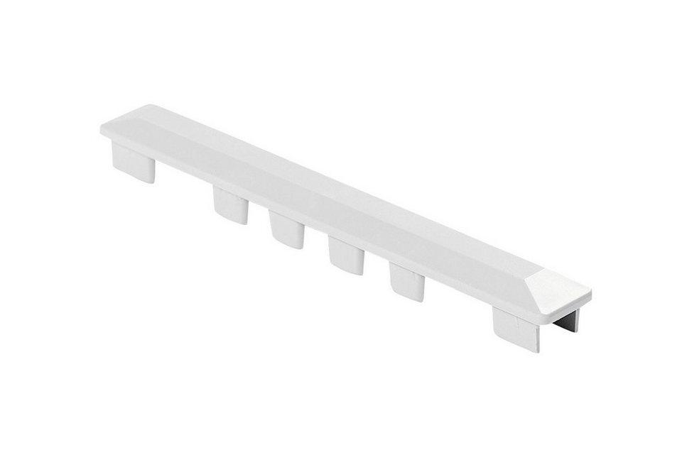Baukulit Abschlusskappen, 10er Set in weiß