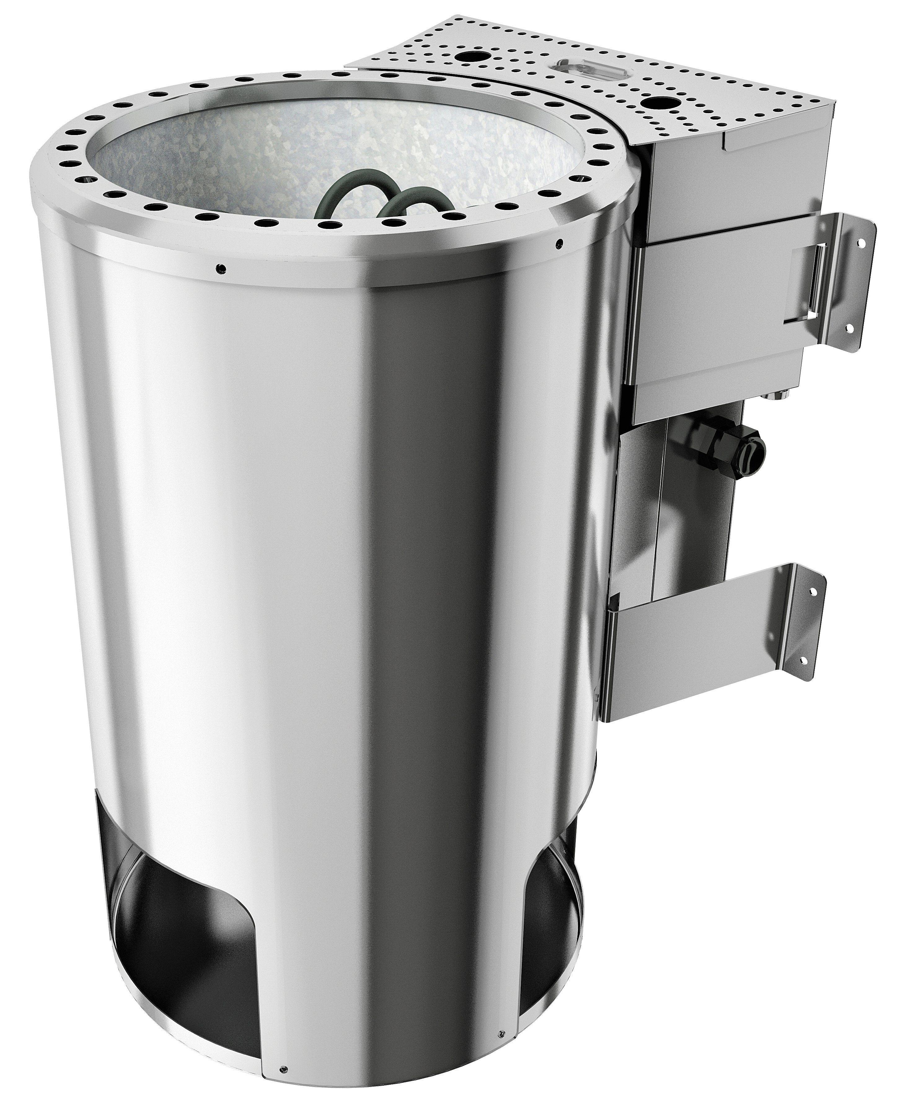 Saunaofen »3,6 KW Plug&Play Bio-Kombiofen«, mit ext. Steuerung »Modern«